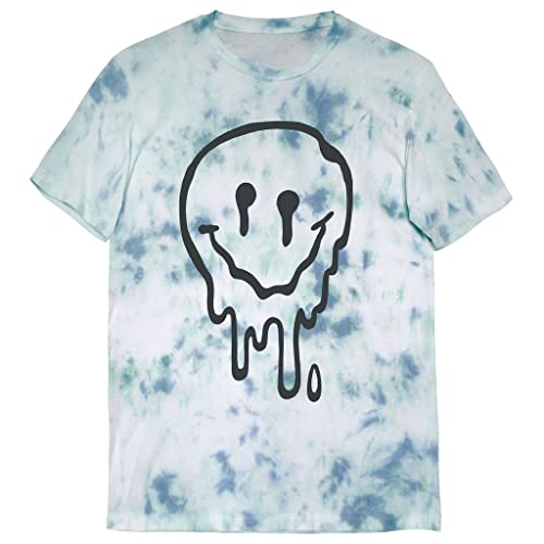 b0bb9279 Killer Condo Melted Smiley Face Slime Tee Unisex Tie Dye T-Shirt