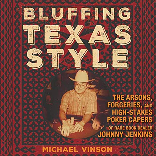 Bluffing Texas Style audiobook cover art