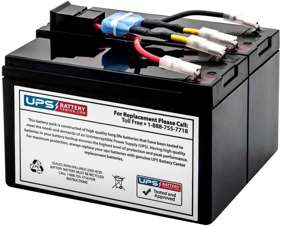 SUA750IX38 - New Battery Pack for APC Smart-UPS 750VA SUA750IX38 - Compatible Replacement by UPSBatteryCenter