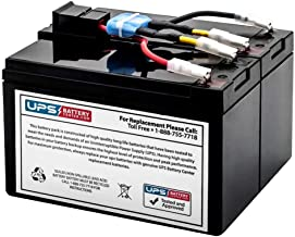 SUA750US - New Battery Pack for APC Smart UPS 750 SUA750US - Compatible Replacement by UPSBatteryCenter