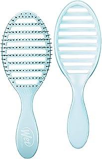 Cepillo húmedo Osmosis Speed Dry Hair ventilado diseño y ultra suave HeatFlex cerdas son sopladas seguras con mango ergonómico gestiona el enredo y el cabello incontrolable, azul, 1 unidad