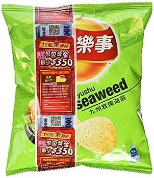 Lay s Kyushu Island Japanese Seaweed Flavored Potato Chips 1.58oz
