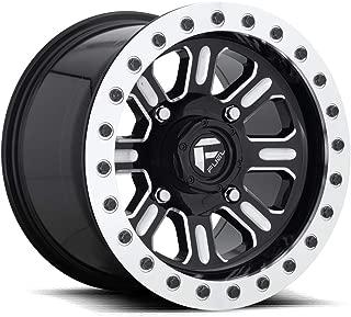 Fuel D910 Hardline UTV Beadlock 15x7 4x136 +38mm Black/Milled Wheel Rim 15