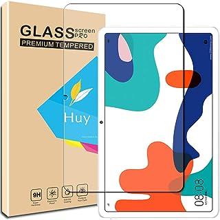Huy for HUAWEI MatePad 10.4 ガラスフイルム レノボ HUAWEI MatePad 10.4 フイルム 日本旭硝子製 強化ガラス 液晶 保護フィルム 貼り付け簡単 硬度9H 防指紋 透過率98.5%