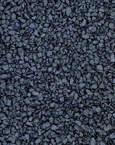 DECO Stones Dekorative Steine für den Garten - 10 kg Schwarz - Farbige Steine in Premium-Qualität