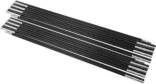 Barras de Poste de la Tienda de campa/ña de Fibra de Vidrio Barras de Soporte de protecci/ón Solar al Aire Libre Kit de Marcos de toldo Tbest Soporte de Poste de la Tienda de aleaci/ón de Aluminio