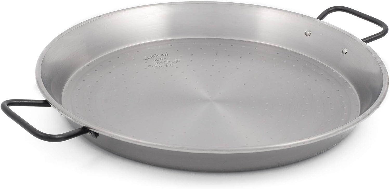 Restaurant Grade 'Pata gift Negra' Paella Sales Pan Bottom - Flat 14 inch