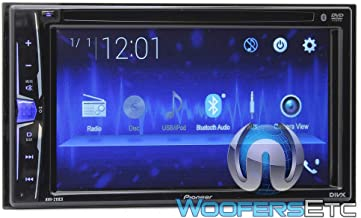 "AVH-220EX - Pioneer in-Dash 2-DIN 6.2"" Touchscreen DVD Receiver with Bluetooth"