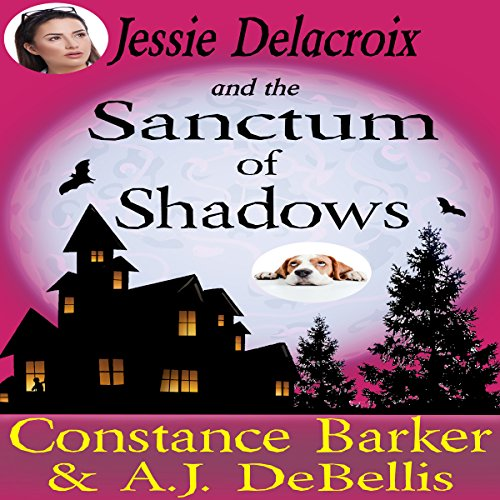 Jessie Delacroix and the Sanctum of Shadows audiobook cover art