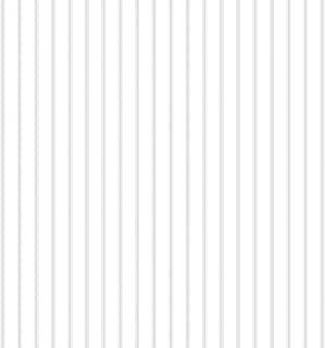 Norwall ST36908 Ticking Stripe PrePasted Wallpaper, Grey, Dove, Seagull