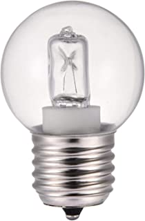 Banatree Mini bombillas transparentes, bombillas para horno, bombillas Pimee con tapón de rosca pequeño E27 de 40 W para microondas/horno, luz resistente al calor 110-250 V 500 °C