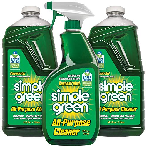 Simple Green Simple Green All-Purpose Cleaner - (Original, 32 Oz Spray and 2-67.6 Oz Refill)