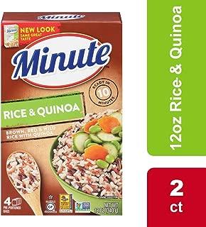 Minute Multi-Grain Medley Brown Rice Red Rice Wild Rice Quinoa, 2 Boxes, 12 Oz