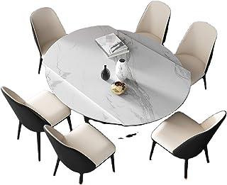 Table À Manger en Dalle De Roche Télescopique Rotative Ménage Petit Appartement Table Carrée Tournant Table Ronde Pliante ...