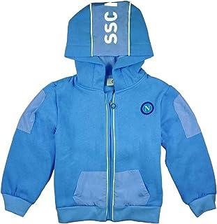 SSC Napoli Giacca con Cappuccio Neonato//Bambino N90565-N90539-N90566