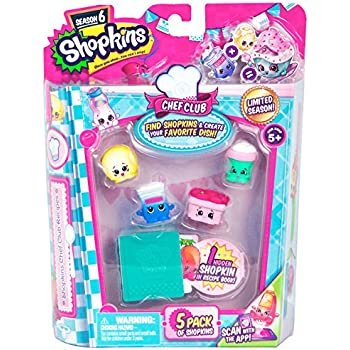 Shopkins Chef Club 5 Pack | Shopkin.Toys - Image 1