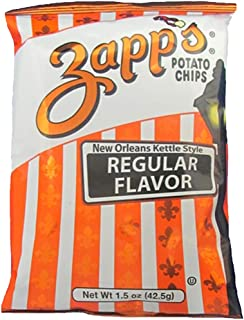Zapps Regular Potato Chips, 1.5 Ounce (24-Pack)