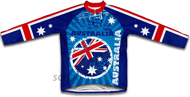 Australia Long Sleeve Cycling Jersey for Women