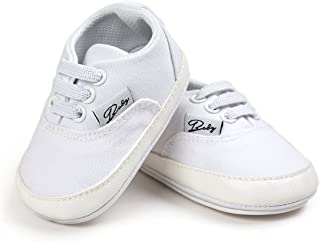 4d6d155775e FAMI Baby Boys Girls Canvas Toddler Sneaker Anti-Slip First Walkers Candy  Shoes 0-