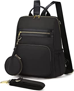 WindTook Damen Rucksack Daypack für Mädchen und Damen mit Münzbeutel, 2 in 1 als Rucksack und Schultertasche Nylon, Handta...
