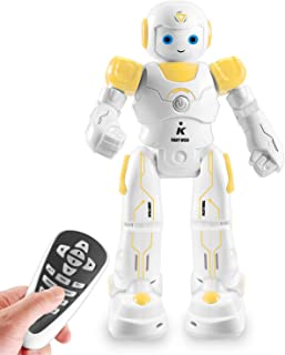 IHBUDS Smart and Programmable Remote-Control Robot for Kids. Beginner's STEM Toy Robot Friend for Kids to Learn as They Pl...