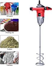 VIVOHOME 110V 1600W Electric Handheld Paint Cement Mortar Mixer Machine with 7 Adjustable Speed