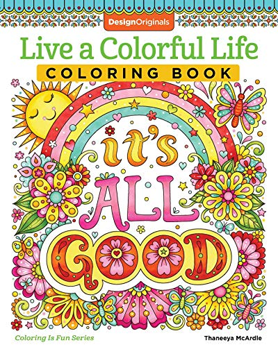 Mcardle, T: Live a Colourful Life Coloring Book (Coloring Is Fun)