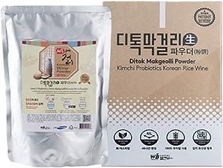 Ditok Makgeolli Powder - for making Premium Korean Rice Wine. Contains Kimchi Lactobacillus Probiotics for Gut Health. Gre...