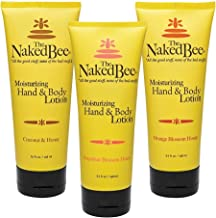 product image for The Naked Bee Orange Blossom Honey, Grapefruit Blossom Honey and Coconut Honey, Hand & Body Lotion, 6.7 Oz - 3 Pack