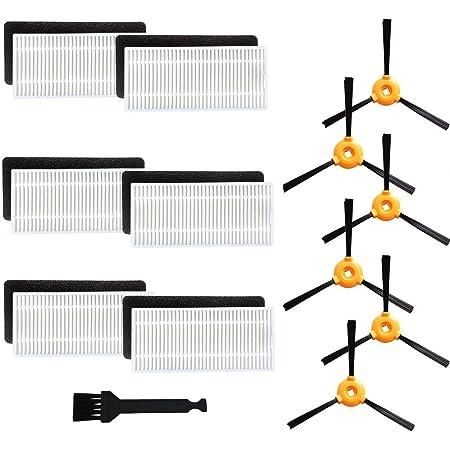 18pcs N79 N79s Filter /& Side Brush Kit For Ecovacs DEEBOT Robotic Vacuum Cleaner