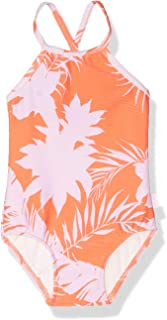 Seafolly Women's High Neck Tank One Piece Swimsuit with Criss Cross Back