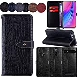 QHTTN Muster Premium Schwarz Leder Tasche Hülle Für Elephone S1 5