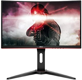 "AOC C24G1 Monitor Gamer Curvo de 23.6"", Resolución 1920x1080, Full HD Brillo 250CD/M2, Conexión Display Port/HDMI/VGA, 52...."
