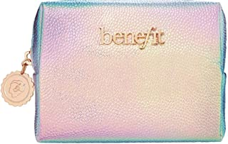 Benefit makeup pouch- metalic finishing