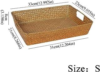 Cesta de mimbre grande ovalada de mesa 65/x 300/x 200/mm mimbre vajilla cuenco para servir aperitivos