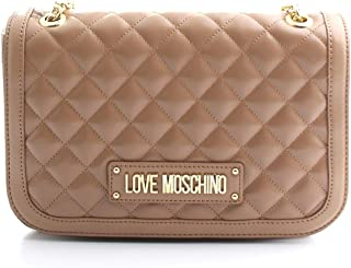 Luxury Fashion | Love Moschino Womens JC4000PP18LA0201 Beige Shoulder Bag | Fall Winter 19