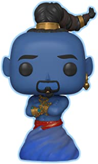 Funko Pop Disney: Aladdin Live Action – Genie (brilla en la oscuridad) Exclusivo de Amazon.