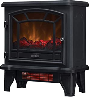 Duraflame Electric DFI-550-36 Infrared Quartz Fireplace Stove Heater, Black