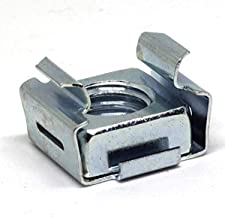 Advance Components ADVD7931-832-3B Cage Nut, Steel, 8-32, Silver, 3B Clear, zinc-Electroplate Finish, ROHS Compliant, Made...