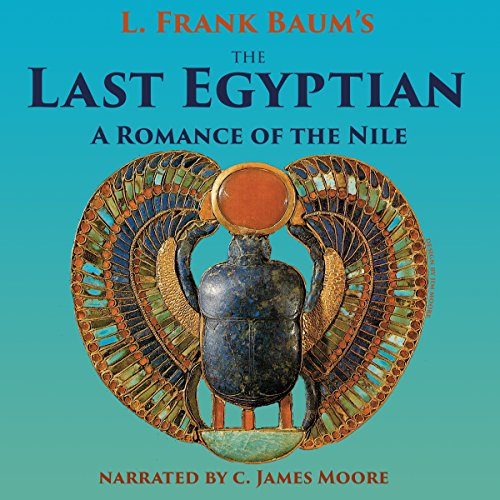 The Last Egyptian audiobook cover art