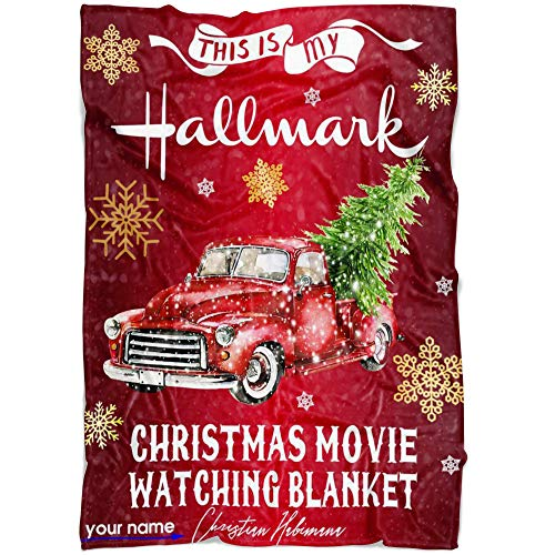 Best Love Quotes Personalized Hallmark Movies Name Blankets for Baby, Kids and Adults, Mom, Grandma, Hallmark Movies Christmas Blanket. Merry Christmas Hallmark Movies Throw Gift
