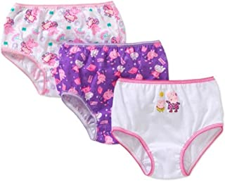 Wxian Girls Cute Animals Soft and Breathable Briefs Underwear Multipack