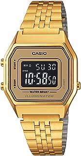 Casio Women's Digital Dial Stainless Steel Watch - LA680WGA-9BDF