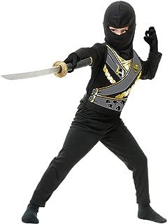 Charades Child's Ninja Avenger Series 4 Costume, Black, Medium