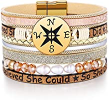 Inspirational Graduation Gifts for Her 2021 Bracelets College High School Graduation Present for Girls Boys