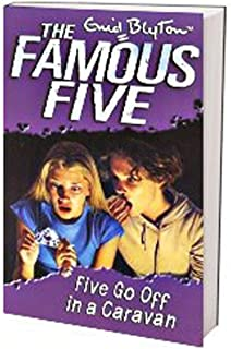Five Go Off in a Caravan: 5 by Enid Blyton - Paperback