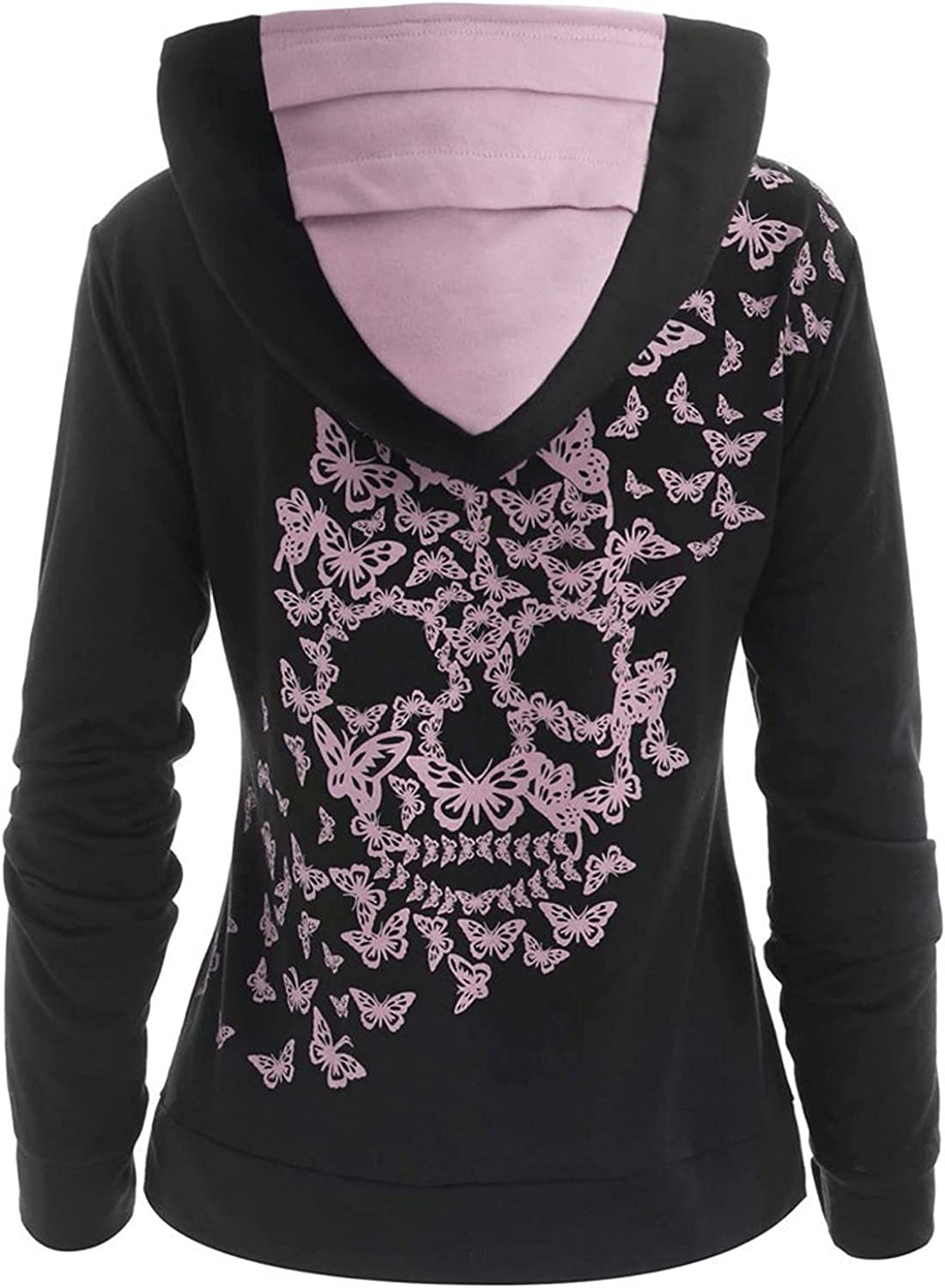 Women Casual Sweater Tops Tie Long Max 82% OFF Sleeve Printed Dye Fees free Drawstring