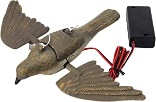 Cyberone Electric Pigeon Decoy, Vivid Dove Decoy for Hunting Garden Yard Decoration Pest Control, Requires 2 AA Batteries