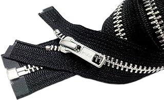 ZipperStop Wholesale Authorized Distributor YKK? Sale 26 Jacket Zipper (Special Custom) YKK #5 Aluminum Metal - Medium Wei...