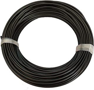 FOLUXING 150Ft Wire Rope Cable, Outdoor Light Guide Wire, 304 Stainless Steel, Vinyl Coated for Hanging String Lights, Globe Lights and Lanterns